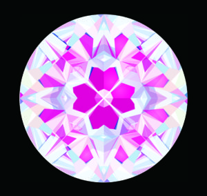 【四つ葉 クローバ 58面体】メイドインジャパンカットダイヤモンド『Dclusiv(ディクルーシヴ)』世界ナンバーワンカッティングダイヤモンドの説明