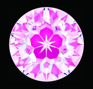 【ピーチ 88面体】メイドインジャパンカットダイヤモンド『Dclusiv(ディクルーシヴ)』世界ナンバーワンカッティングダイヤモンドの説明
