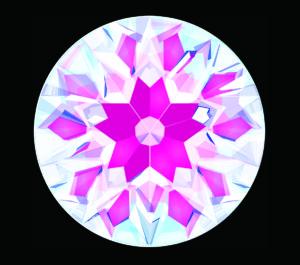 【桜(サクラ) 71面体】メイドインジャパンカットダイヤモンド『Dclusiv(ディクルーシヴ)』世界ナンバーワンカッティングダイヤモンドの説明