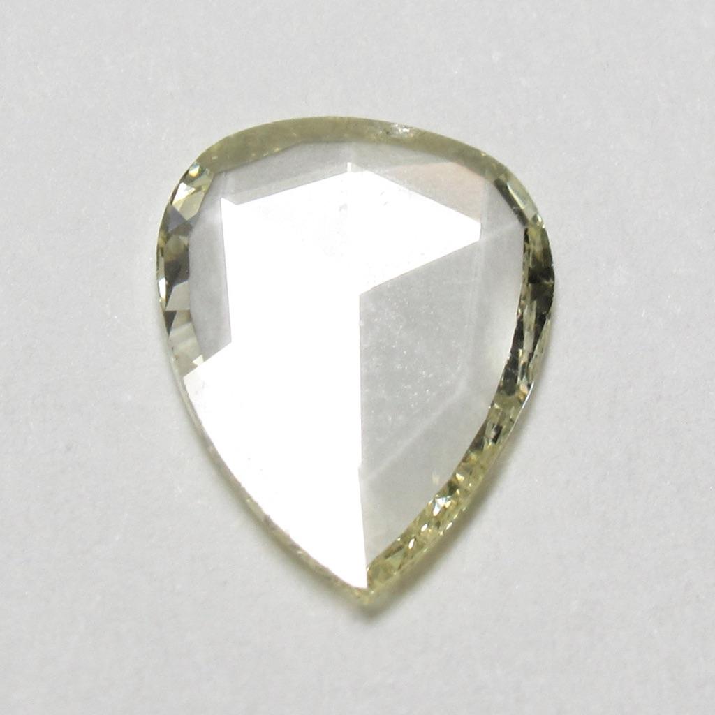 ローズカットダイヤモンド・フラットカットダイヤモンド(スライスダイヤモンド)・イエローダイヤモンド(ファンシーカットダイヤモンド・一点物ダイヤモンド)【一点物シェイプ】