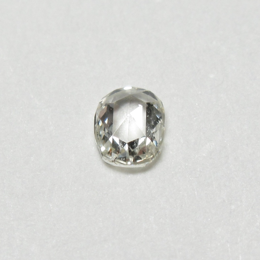 オーバルローズカットダイヤモンド(ファンシーカットダイヤモンド・一点物ダイヤモンド)【一点物シェイプ】