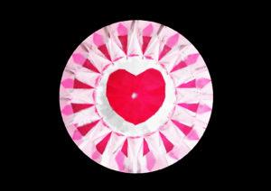 【ハート 85面体】メイドインジャパンカットダイヤモンド『Dclusiv(ディクルーシヴ)』世界ナンバーワンカッティングダイヤモンドの説明